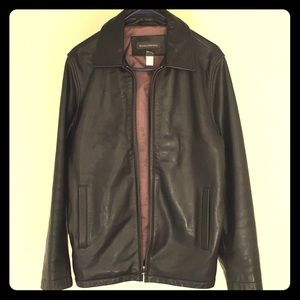 Authentic Banana Republic Men's Leather Jacket